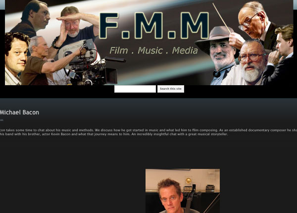 film music media interview